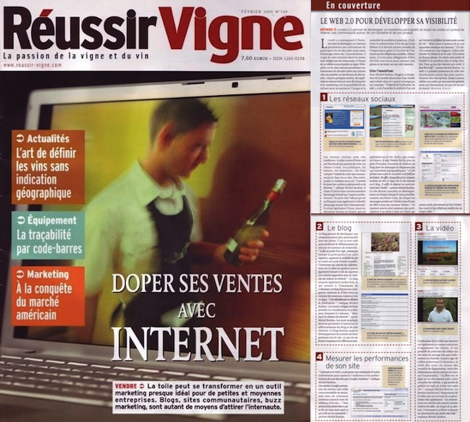 Dossier Internet Magazine Réussir Vigne