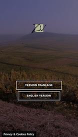 Aperçu sur mobile du site internet e-commerce créé en responsive design pour les vins d'alsace en biodynamie du domaine Valentin Zusslin à Orschwihr